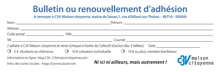notice du site - contact c3v