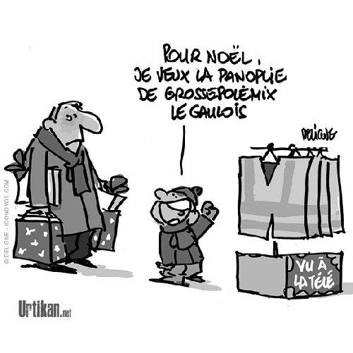 1 Dessins Humoristiques Les Gilets Jaunes S Agitent C3v